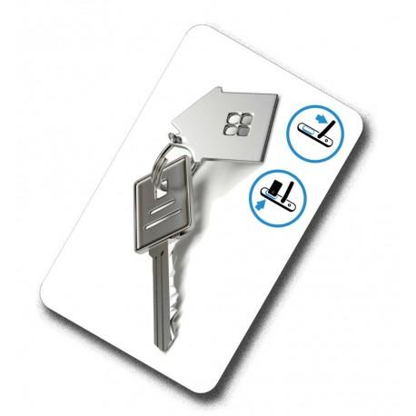 Karty zbliżeniowe do zamków Be-Tech / Hartmann